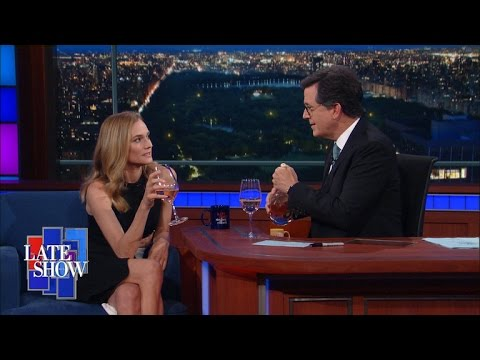 Diane Kruger's French Accent Gets Her Out Of Trouble Every Time
