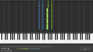 Repeat youtube video Synthesia - 「Darker Than Black」 - Yin no Piano