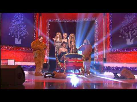Girls Aloud Friday Night Christmas Project - Santa Claus is Coming to Town (Part 1)