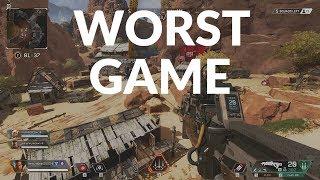Worst Gameplay EVER | My First Match In APEX Legends | NOOB Tutorial