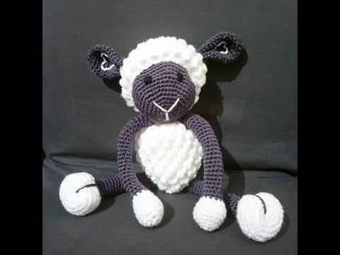 Mouton Doudou Amigurumi Crochet 12
