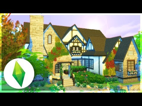 NEW LET'S PLAY HOME! TUDOR STYLE BUILD - The Sims 4