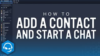 How To Add A Contact And Start A Chat On TeamSpeak