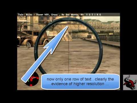 Download Change Sniper Elite Resolution with 2 Keys Only