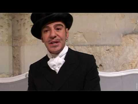 Exclusive interview with John Galliano for Christian Dior