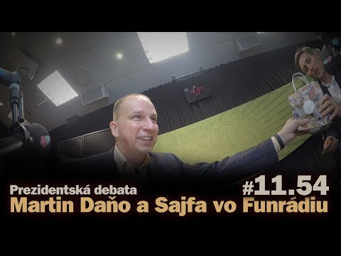 Prezidentská Debata: Martin Daňo A Sajfa Vo Funrádiu (short) #11.54
