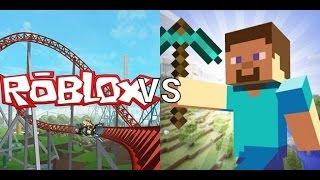 Minecraft VS Roblox КТО КОГО?