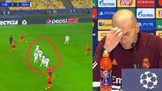 Вот как Зидан ОПРАВДЫВАЛСЯ после ПОЗОРА Реала в матче с Шахтером Шахтер Реал Мадрид 2 0