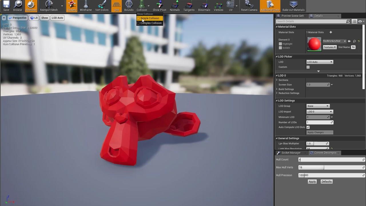 Blender 2 8 to Unreal Engine 4 21 2 Export Tutorial