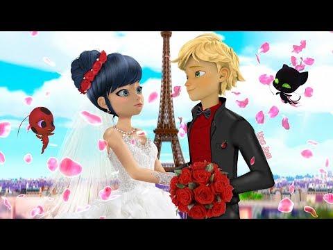 Ladybug Speededit: Miraculous Wedding   Adrien And Marinette Marry