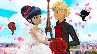 Ladybug Speededit: Miraculous Wedding | Adrien and Marinette Marry