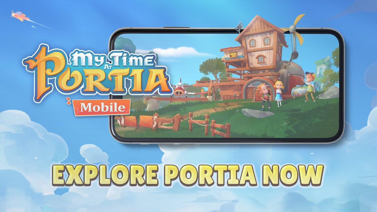 My Time at Portia iOS, Android Official Launch Trailer