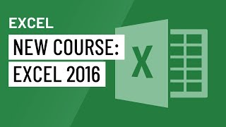 New Course: Excel 2016