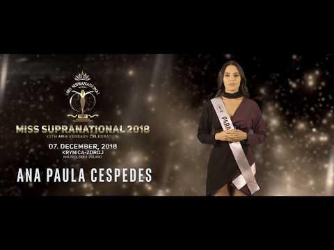 Official Contestant Introduction 2018 - Paraguay