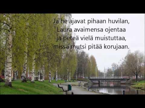Anssi Kela Puistossa Lyrics