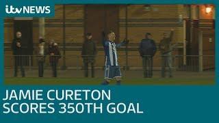 Jamie Cureton scores 350th career goal   ITV News