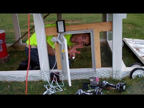 Installing the Pullet-Shut auto solar door on our coop! - Ep. 45