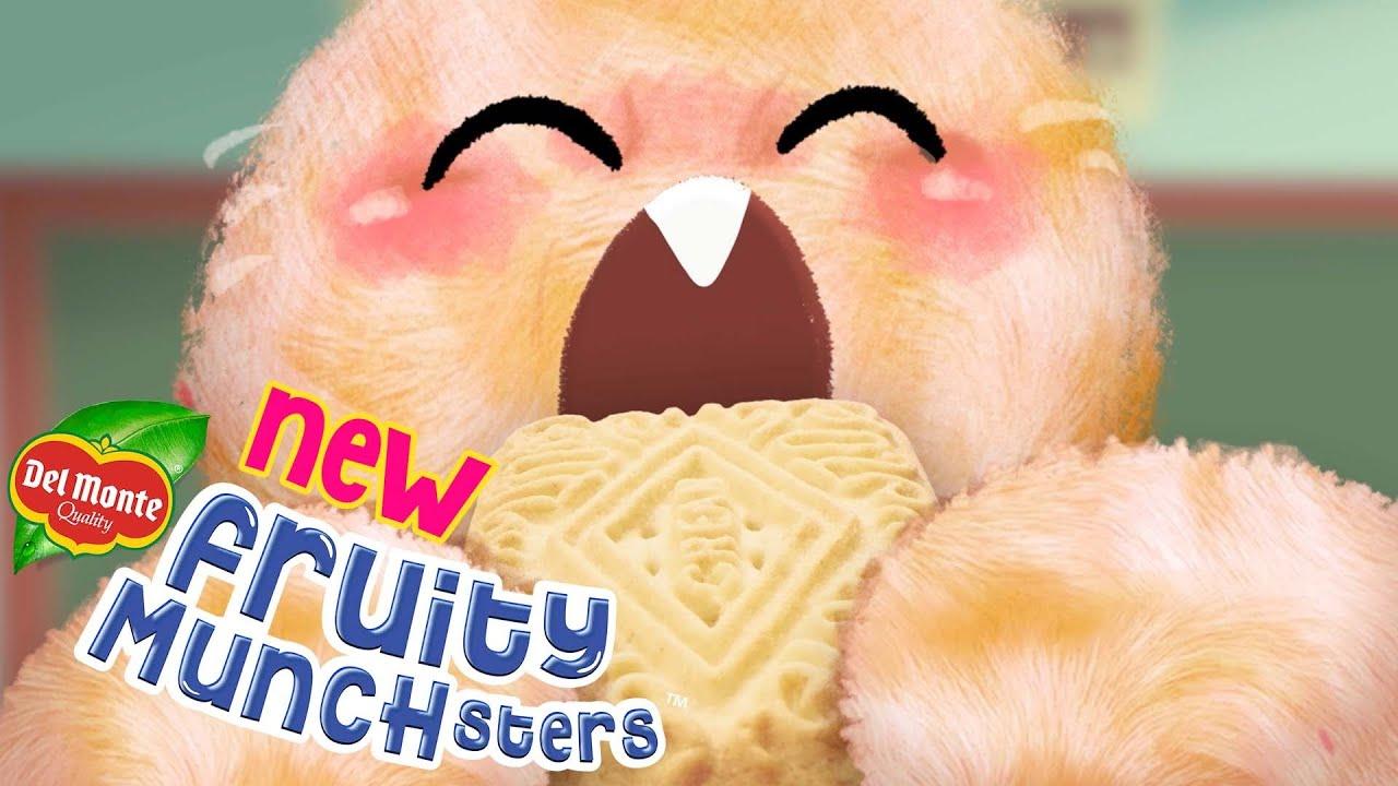 Bakit sila napapa-munch like munchster? Alamin at TIKMAN ang NEW Fruity Munchsters from Del Monte!