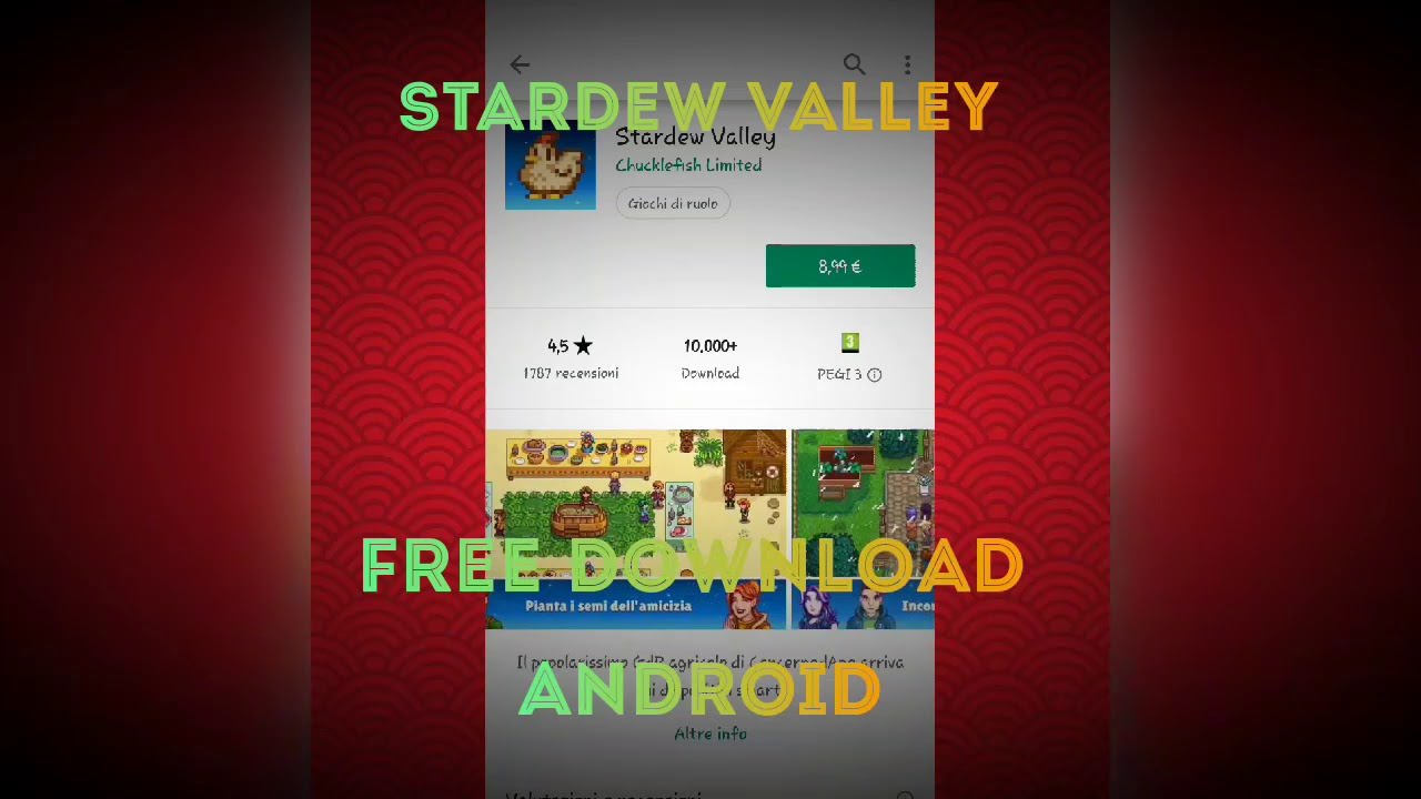 STARDEW VALLEY android download FREE working apk obb no ads direct link