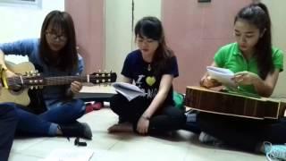 [GUITAR VÌ SINH VIÊN] yêu -min st319 - guitar cover - 3 con cáo