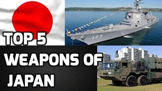 TOP 5 WEAPONS OF JAPAN