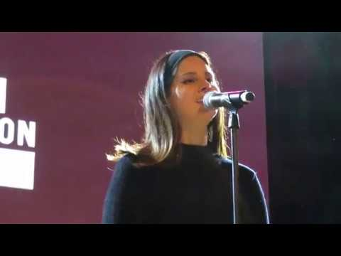 Lana Del Rey - How to Disappear (Live at Ally Coalition Talent Show, NYC 12-5-18)