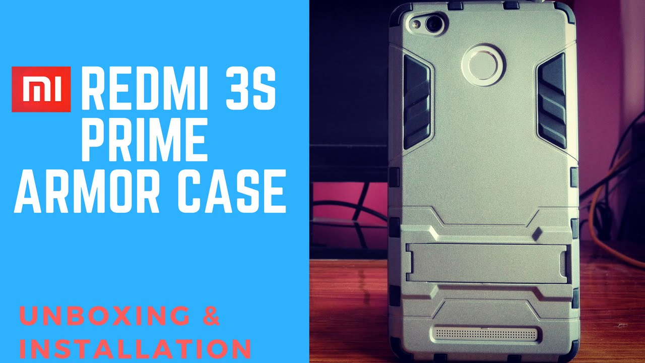 newest collection a6834 5f62f Armor [Bumper] Case for REDMI 3S PRIME (Unboxing & Review) | secures your  SmartPhone perfectly