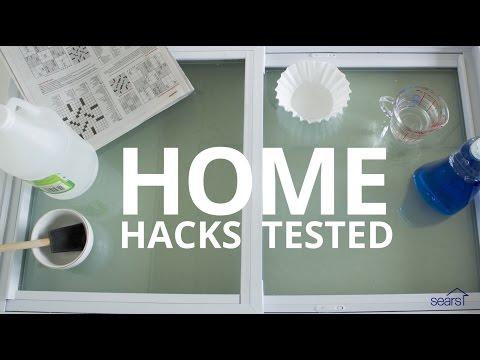Sears Home Hacks: 4 Window Cleaning Hacks—TESTED!