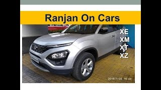 2019 TATA Harrier को करीब से जानिए | Walk-Around Review | Ranjan on Cars