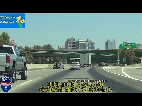 Los Angeles CA to Sacramento CA 2015 HD