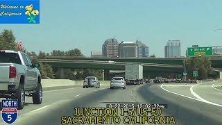 Los Angeles CA to Sacramento CA 2015 HD