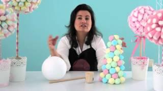 видео Девчата - Украшаем сладкий стол для детского праздника (Часть 1: делаем монстров из пряжи)