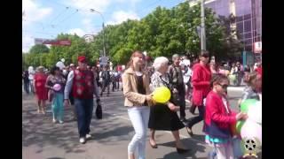 Парад в честь Первомая в Симферополе - 1 мая 2015 года(, 2015-05-02T19:09:50.000Z)