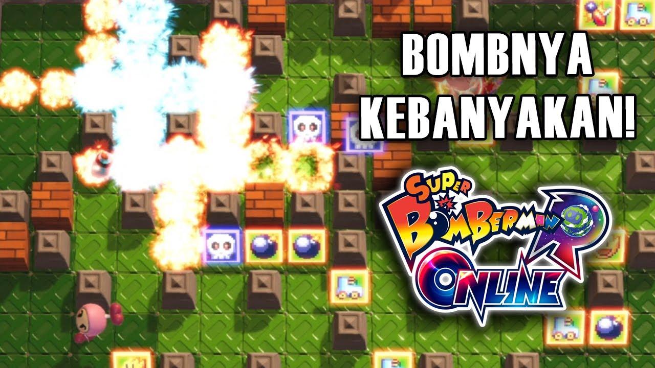 WALAH BOMBNYA KEBANYAKAN WOY! - Super Bomberman R Online Indonesia