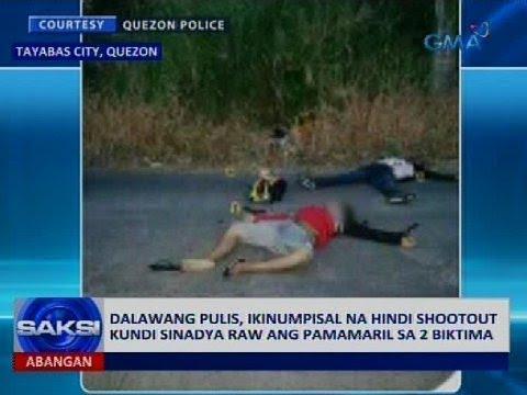 Saksi: Napatay na inakusahang holdaper, anak ng mayor ng Sariya, Quezon na hustisya ang hiling