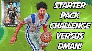 NBA 2K16 MyTeam Starter Pack Challenge VS DMAN! The Elfrid Payton Show!