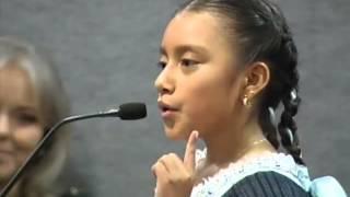 Discurso de niña indígena en la @CEENLMX  Natalia López López   Versión Completa