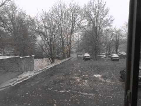 Neve em Akron, OH, USA