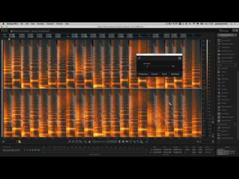 iZotope RX 6 201: Sound Designer's Toolbox - 4. Find and Replace