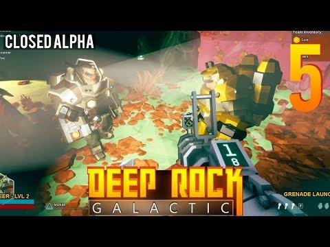 [5] Deep Rock Galactic Alpha w/ GaLm and friends