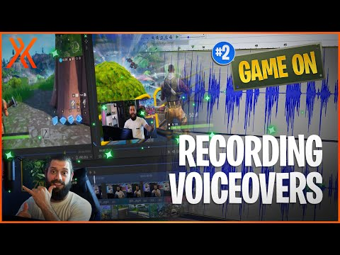 How To Record VOICEOVER AUDIO For Gameplay