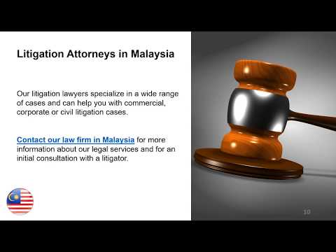 Litigation Lawyers in Malaysia