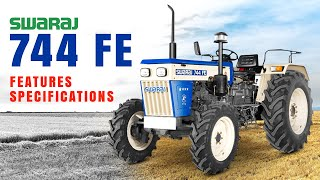Swaraj 744 FE 4WD Tractor | 2021 Price | Features, Specifications