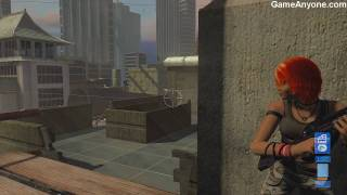 "Perfect Dark Zero - Mission 3. Rooftops Escape ""Dark Agent"" [1/2]"