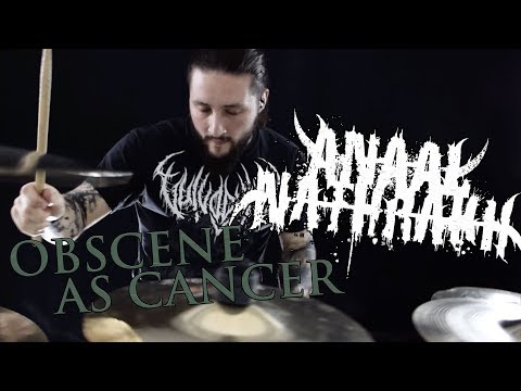 Obscene As Cancer - Anaal Nathrakh [Drum Cover By Thomas Crémier]