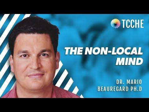 Dr. Mario Beauregard Ph.D @ TCCHE 2015 - The Non Local Mind -