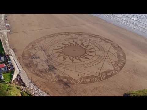Simon beck sand art