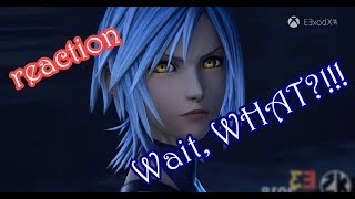 Kingdom Hearts 3 E3 2018 Frozen Trailer REACTION