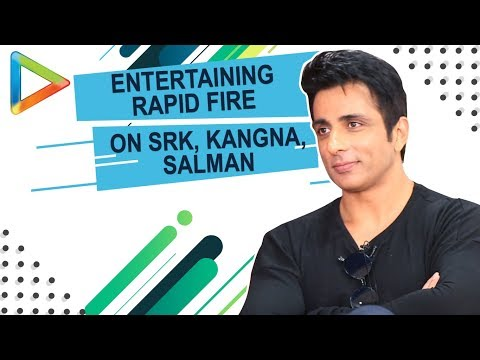 DON'T MISS: Sonu Sood's SURPRISING Question for Shah Rukh Khan   Rapid Fire
