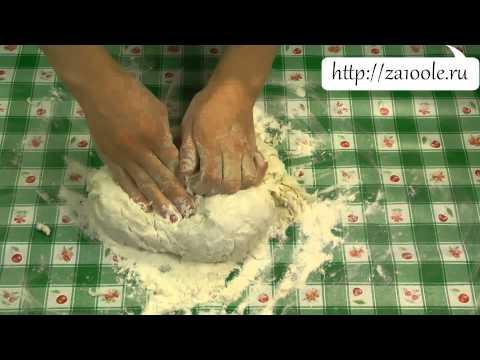Тесто для мантов видео рецепт